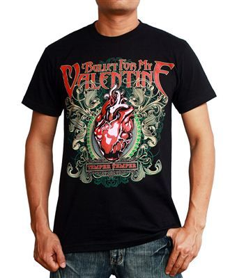 Bullet For My Valentine Temper Temper BFMV T Shirt $19.99. This Bullet For  My