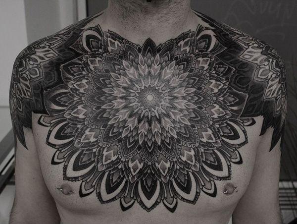 50 Mandala Tattoo Design Ideas Nenuno Creative Mandala Tattoo Design Tattoo Designs Men Mandala Chest Tattoo