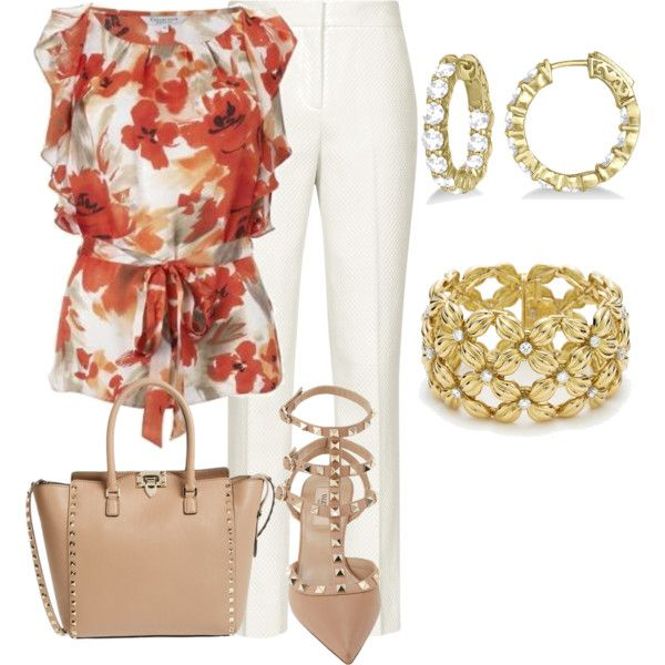 """Floral"" by marisol-menahem on Polyvore"