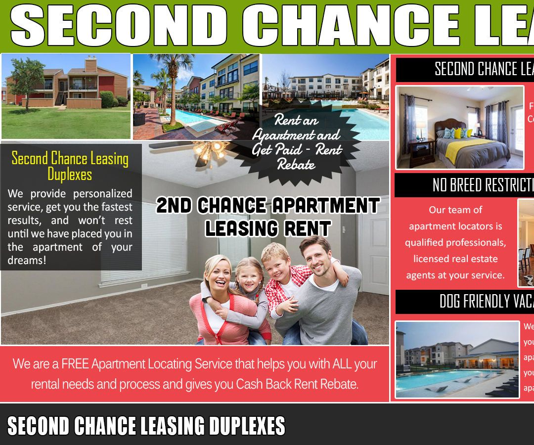 Affordable Apartments For Rent: Second Chance Leasing Duplexes