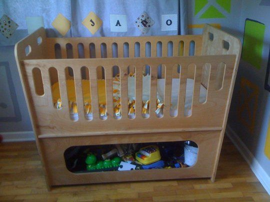 10 Handmade Cribs, Cradles, & Children\'s Beds | Bebé