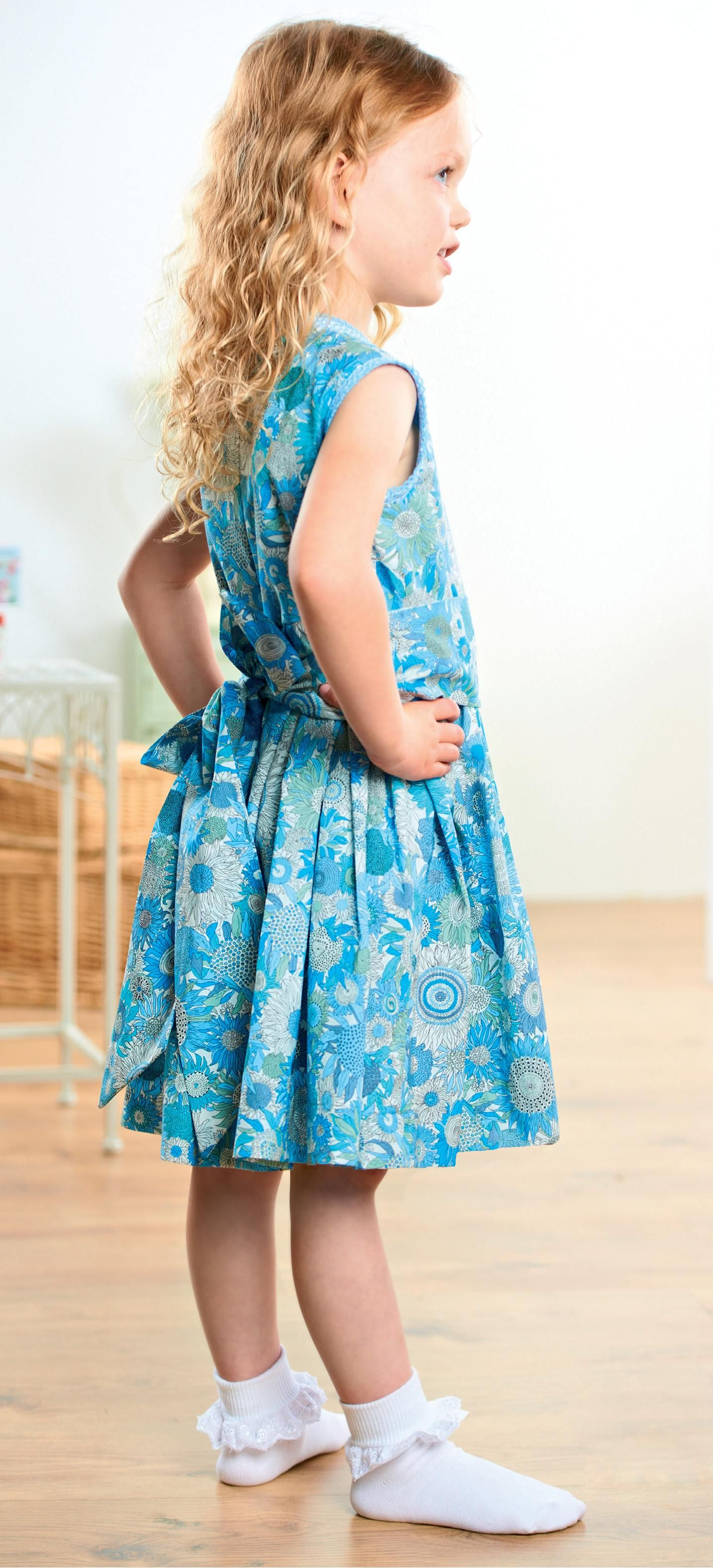 Young Girl\'s Liberty Party Dresses - Free sewing patterns | Liberty ...