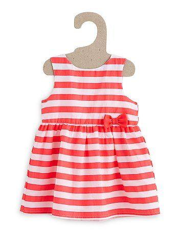 55c1e8829dde Vestido corto estampado sin mangas Bebé niña - Kiabi - 8,00 ...