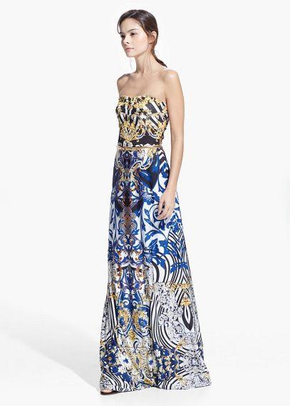 Kleider für Damen | MANGO | Lange kleider