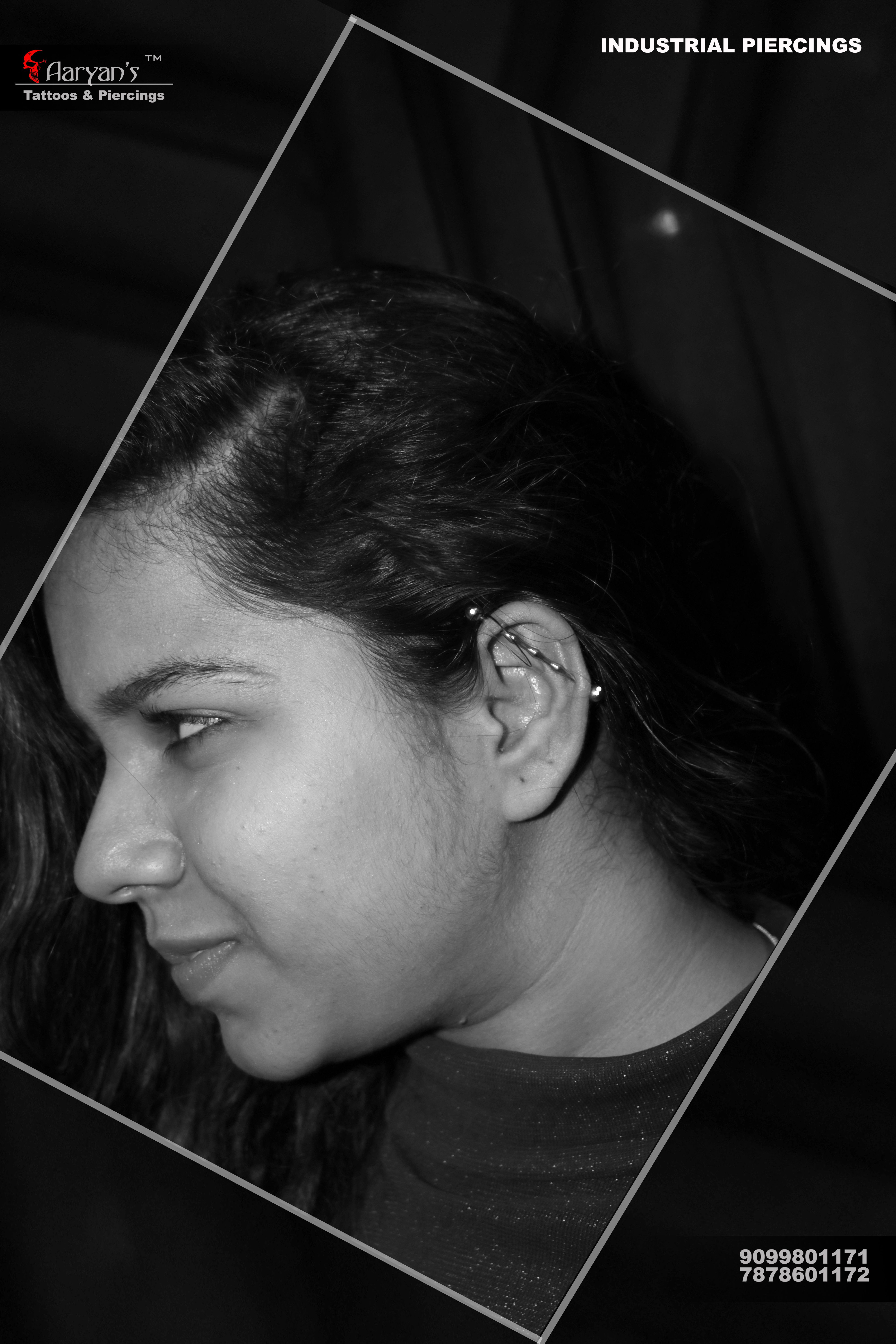 Industrial Piercing Just Get It Done Its Best Style So Far Call