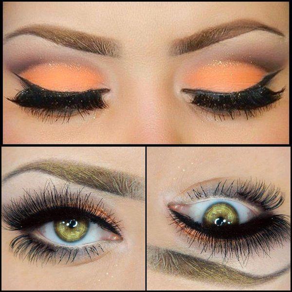 Pastel Peach   Makeup geek, Peach makeup, Makeup