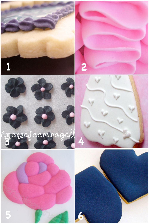 Más información sobre glasa con albúmina | cocina dulce | Pinterest ...