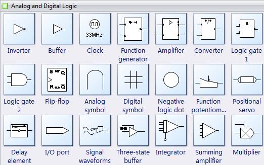 Digital Electronic Symbols Electrical Symbols Arduino Projects Diy Symbols