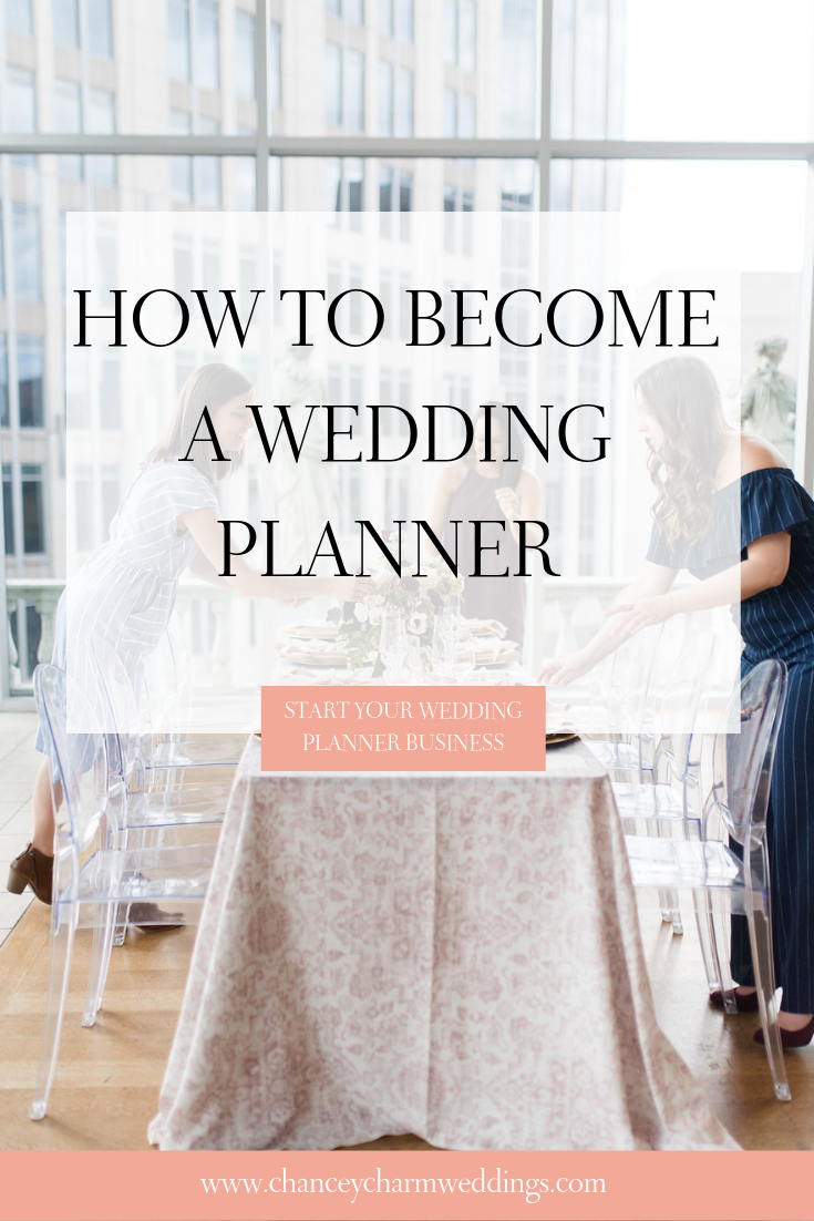 How To Become A Wedding Planner Wedding Planner Business Event Planning Guide Wedding Planner Career