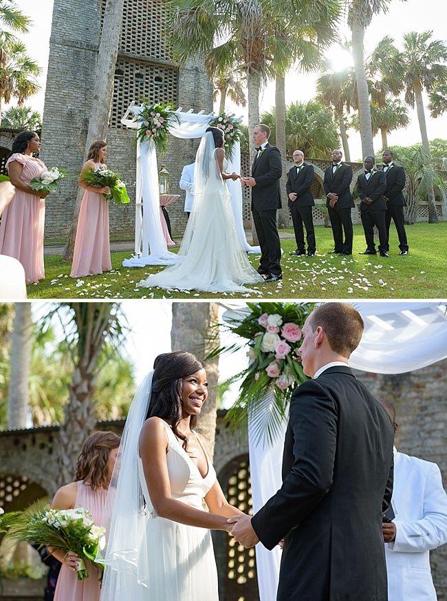 Jamesha Kelly Huntington Beach State Park Wedding Row Grand Strand