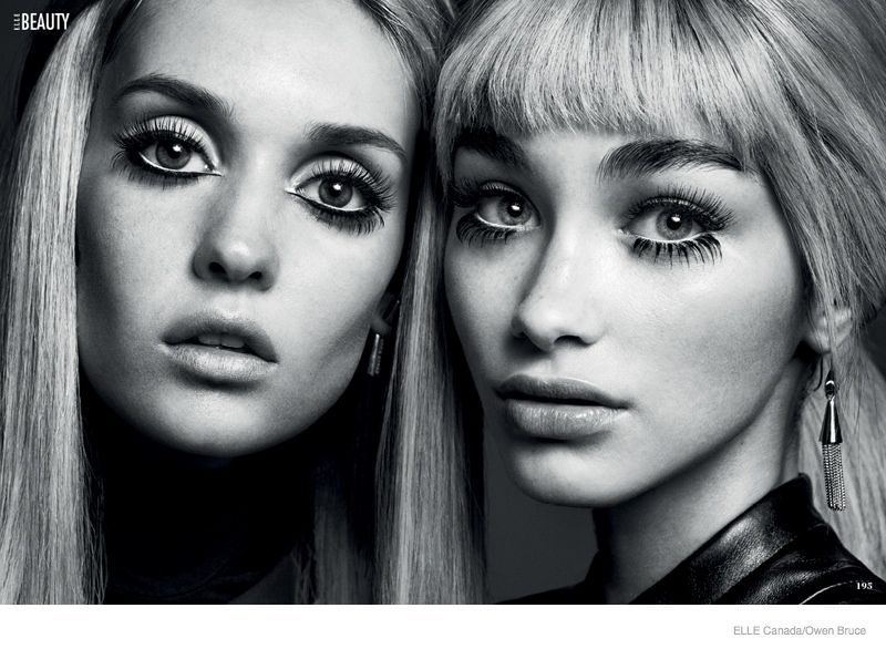 Elle Canada Spotlights 60s Makeup Trends For My Generation 60s