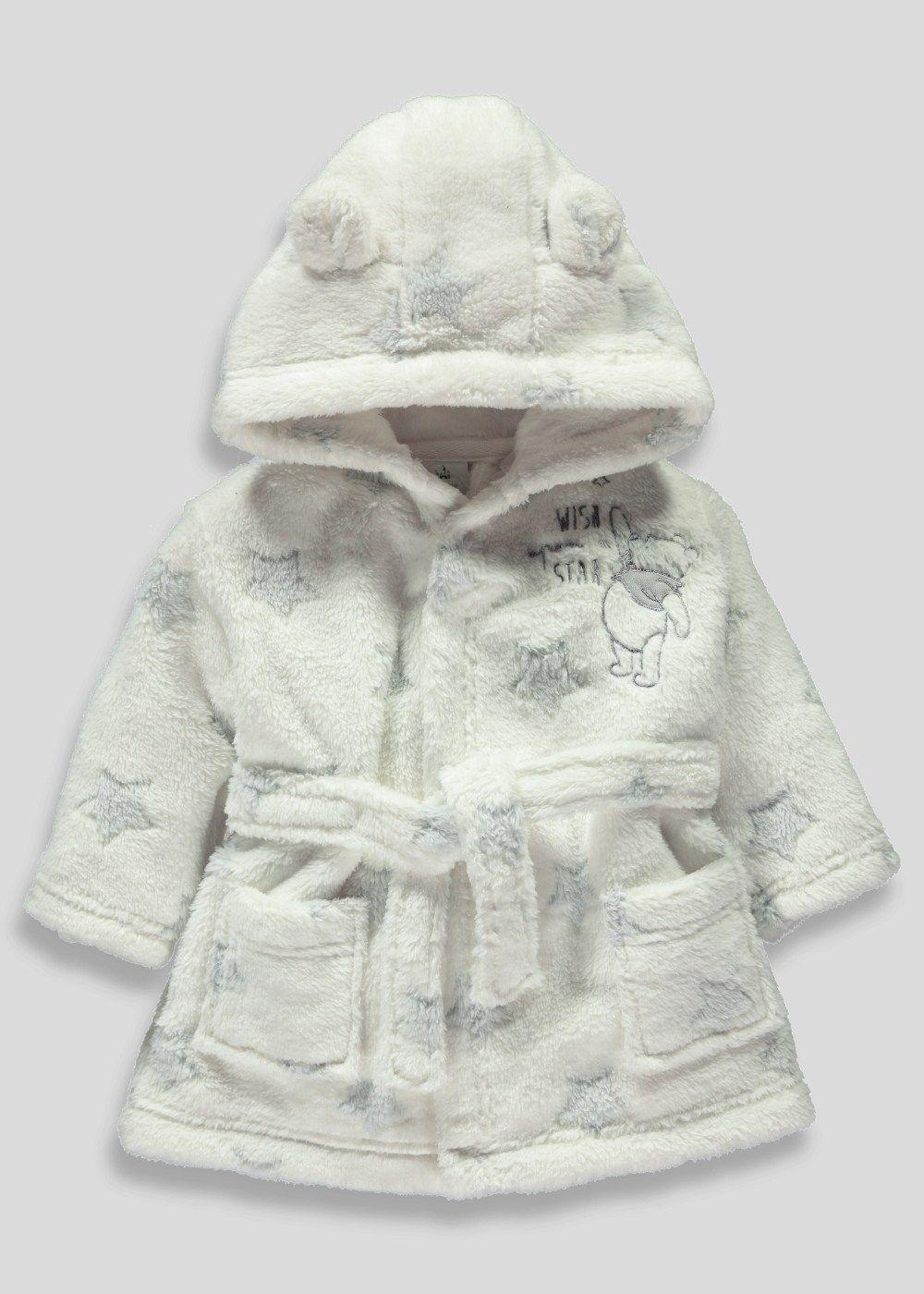 Unisex Disney Winnie the Pooh Dressing Gown (Newborn-12mths ...