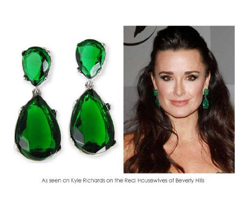 Love These Kenneth Jay Lane Statement Earrings Perfect For Any Holiday Party