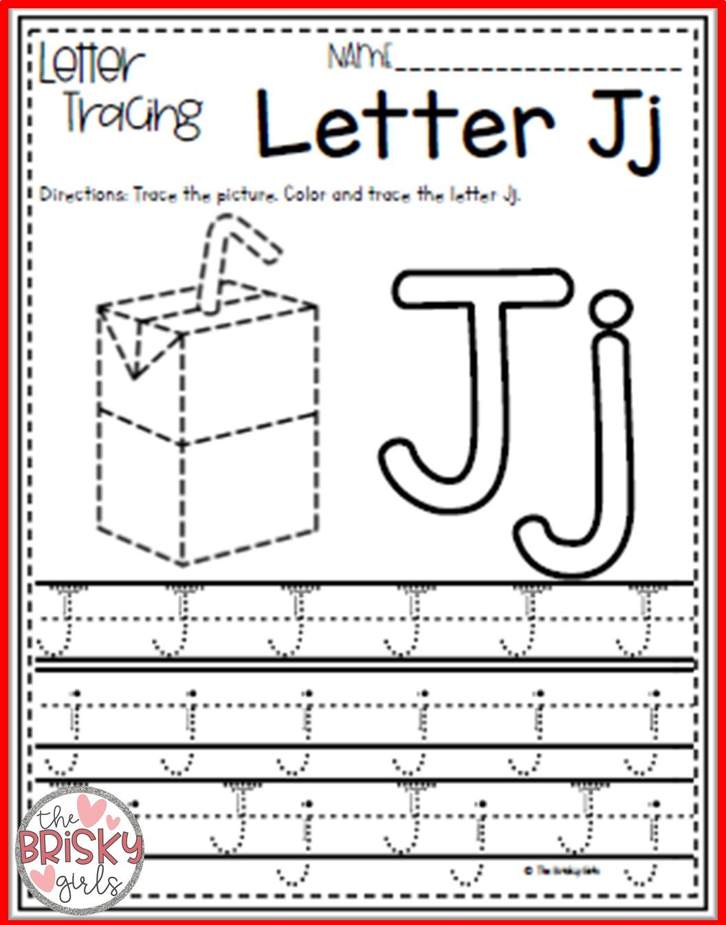 Back To School Alphabet Activities Letter Tracing Take