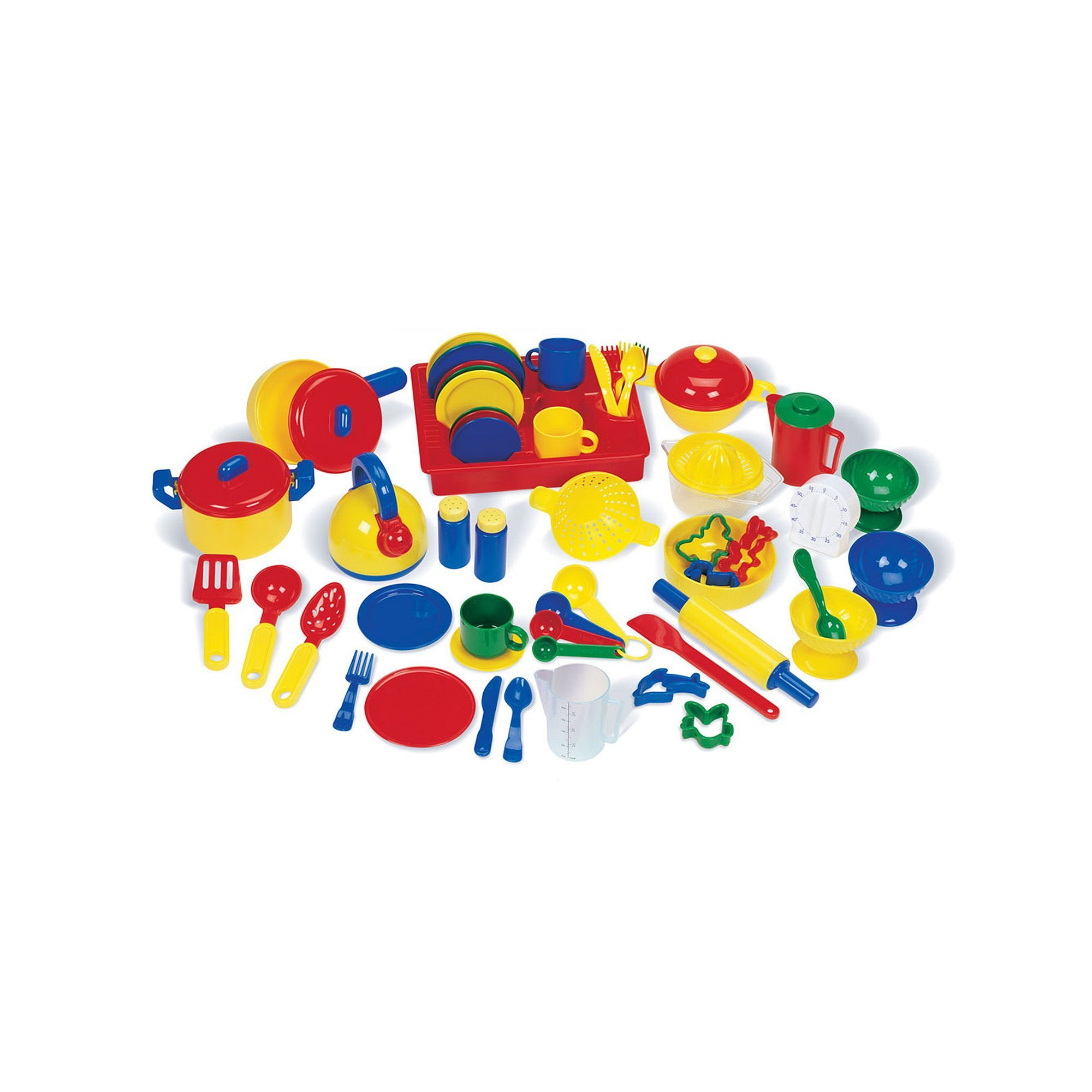 Learning resources pretend u play kitchen set multicolor pretend