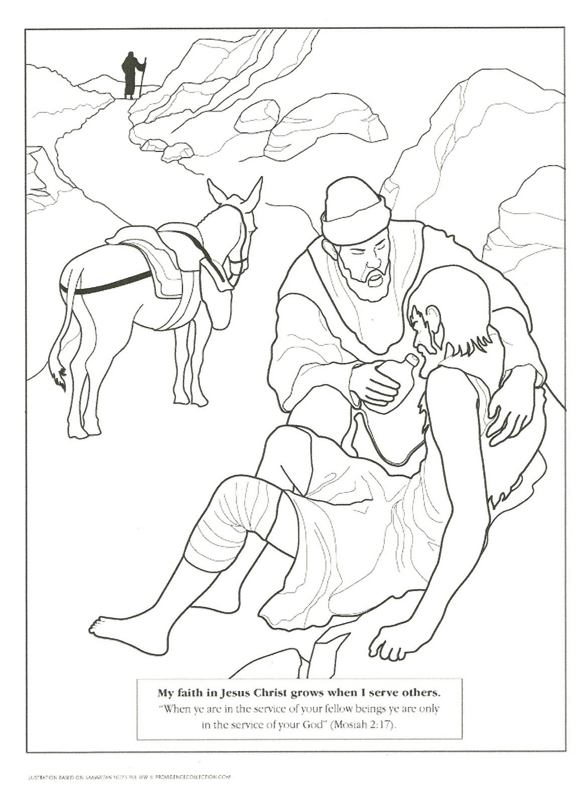 Primary 3 Manual Lesson 37 I'll Serve Jesus Christ by