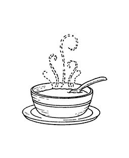 Doodle Soup Bowl Design Element Free Image By Rawpixel Com Nunny Sticker Design Design Element Bowl Designs