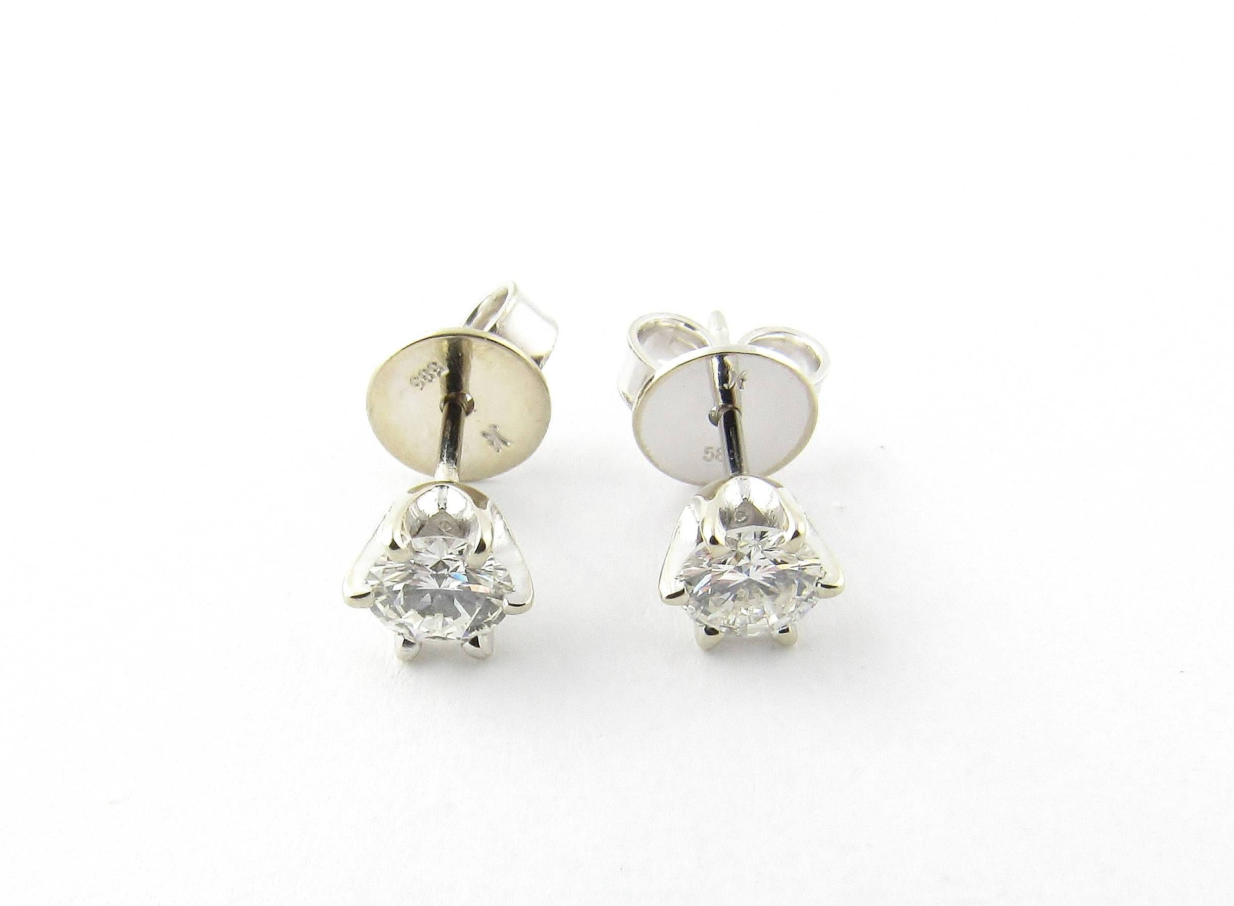 stud total white sizes gold antique views more earrings carat diamond