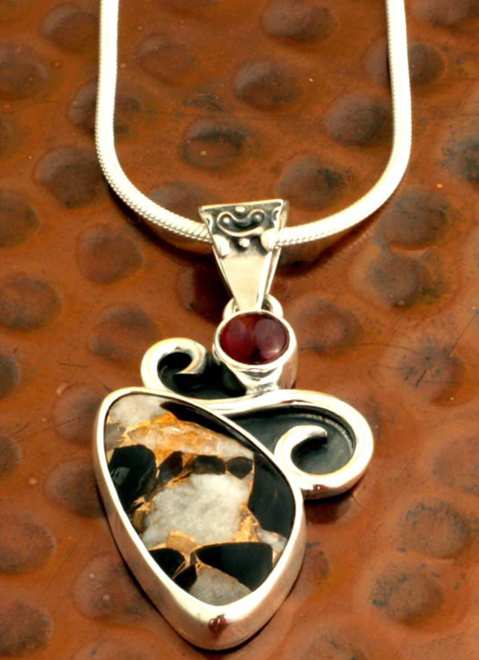 Aztec calite aztec gargoyle pendant necklace with calcite aztec calite aztec gargoyle pendant necklace with calcite obsidian and bronze aloadofball Gallery