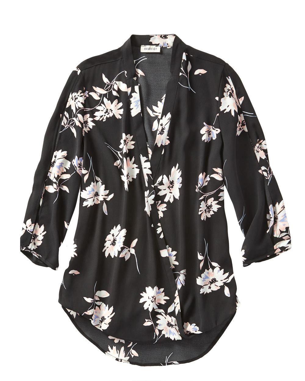 Wrap blouse Smart Set Wrap blouse, Blouse, Shopping