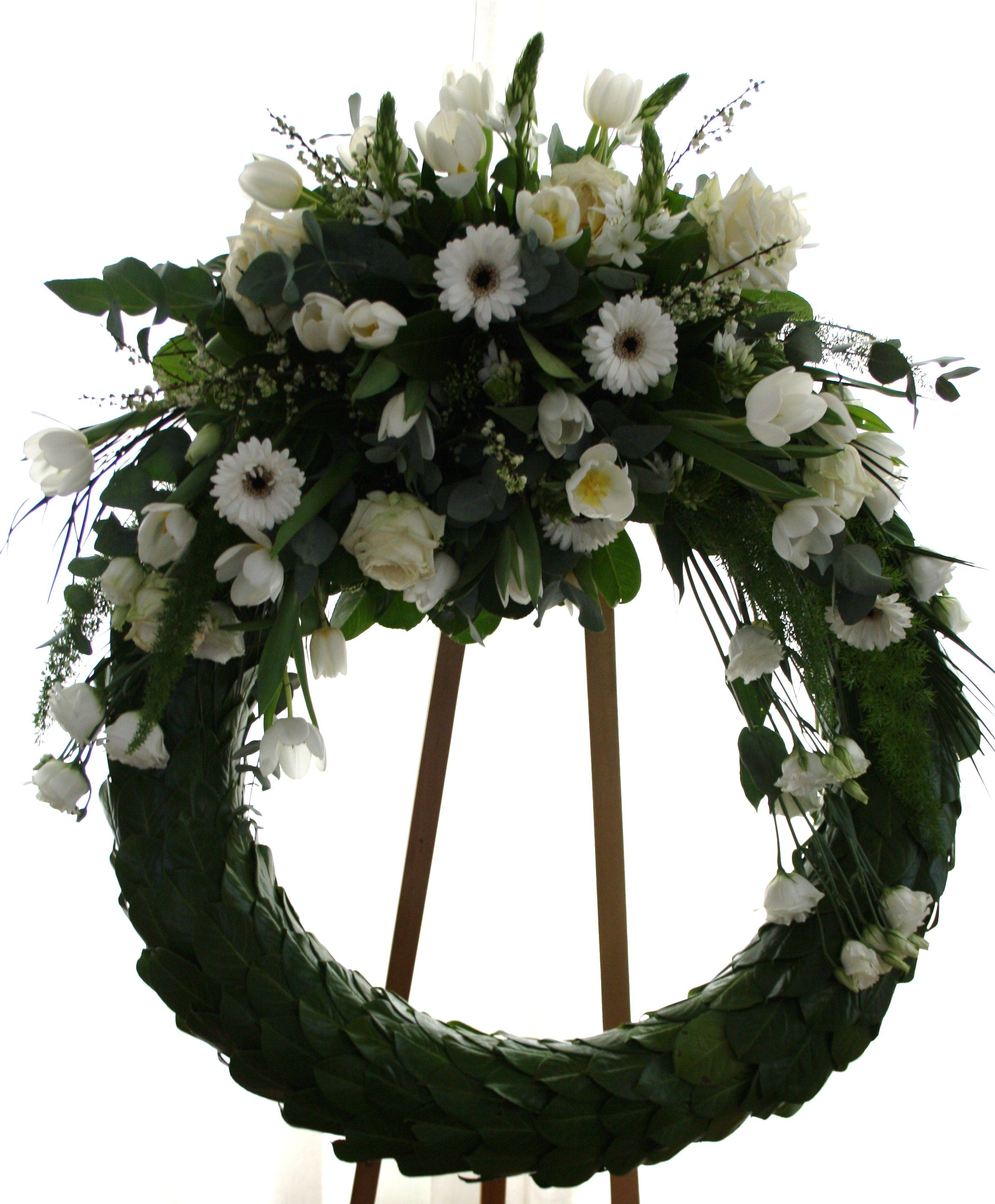 Funeral wreath passare leavewell planwell funeral flower bouquet