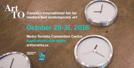 Applications Open for Art Toronto 2016