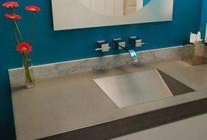 Bathroom Countertop Concrete Design Concrete Countertops