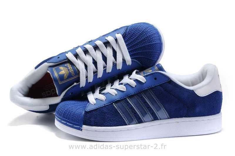 Adidas Superstar Bleu Homme 2