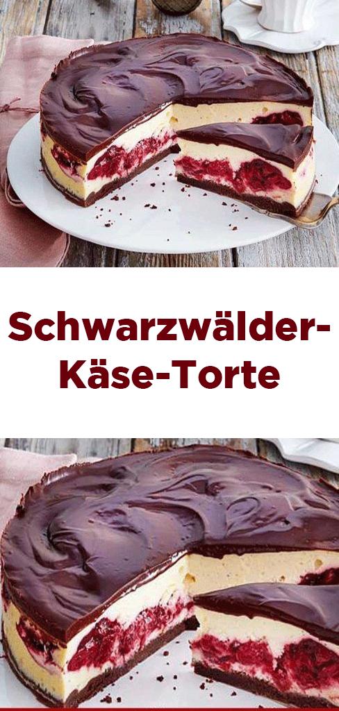 Schwarzwälder-Käse-Torte #easysimpledesserts