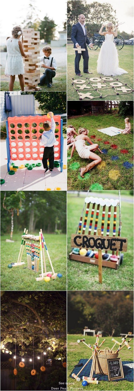if you u0027re having an outdoor wedding lawn games are a fun way to