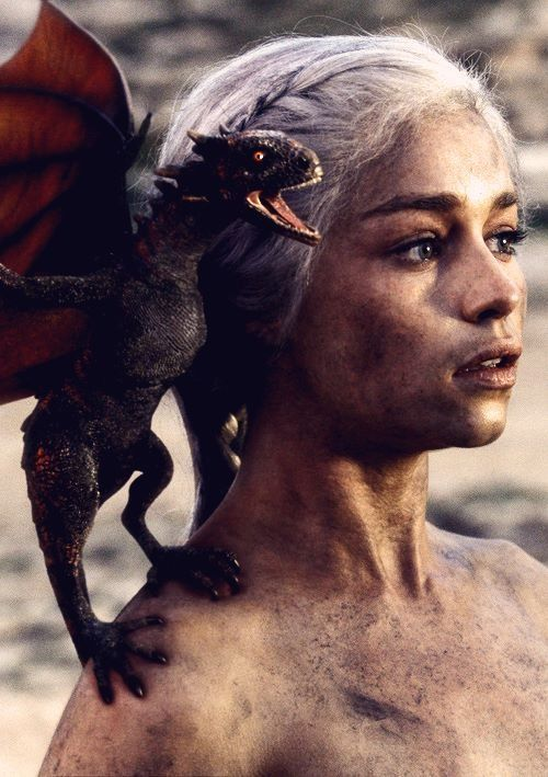 Danaerys Targaryen, mother of dragons, Game of Thrones #gameofthrones