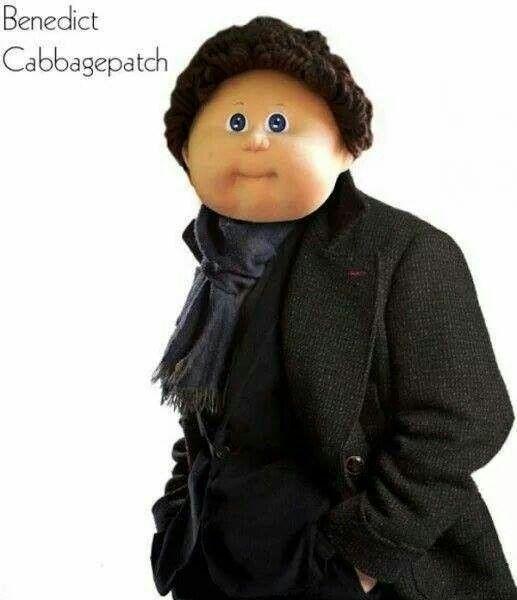 Benedict Cabbagepatch- Sherlock