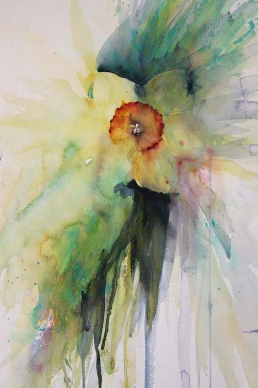 Ever Spring Watercolour By Jean Haines Watercolor Painting