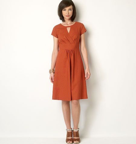 B6168, Misses\' Tunic and Dress - can be made in ponte/stable knits ...