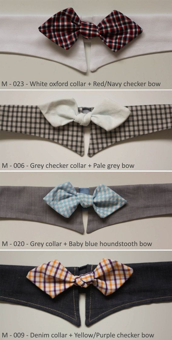 Pet 39 S Fancy Shirt Collar With Bow Tie For Mid Size Dogs