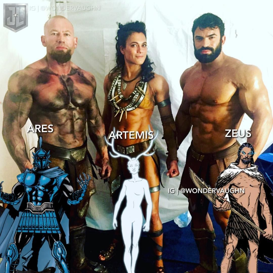 The Old Gods Ares Nickmckinless Artemis Auroralauzeral And