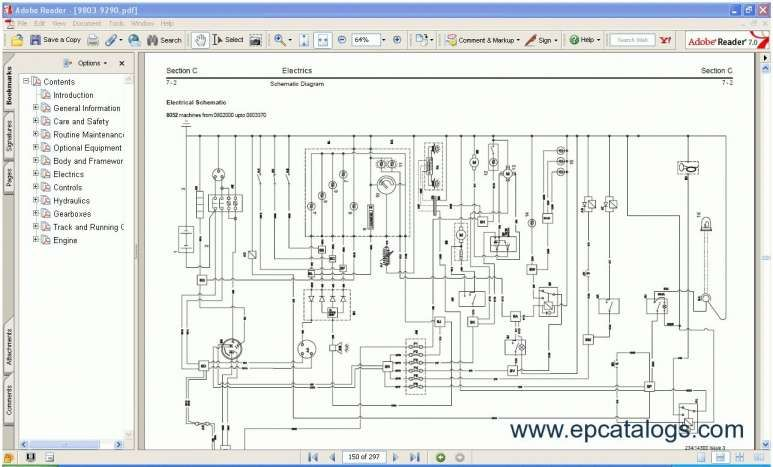 Electrical Schematic Diagram, Jcb Wiring Diagram