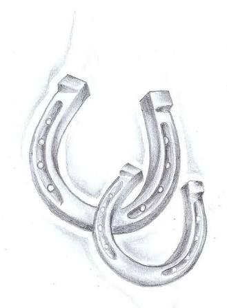 Resultado De Imagem Para Horseshoe Drawing