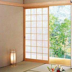 sliding shoji screen portholes pinterest interieur maison maison et interieur. Black Bedroom Furniture Sets. Home Design Ideas