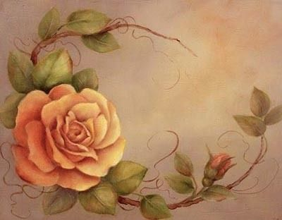 Art Apprentice Online - Downloadable Painting Pattern - A Summer Rose - Acrylic Flower -  Painting Pattern by Susan Abdella, MDA, $9.95 (http://store.artapprenticeonline.com/a-summer-rose-acrylic-flower-painting-pattern-by-susan-abdella-mda/)