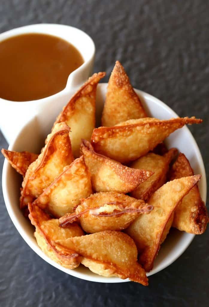 Fried Poutine Wontons | A Cheesy, Fried Appetizer Recipe
