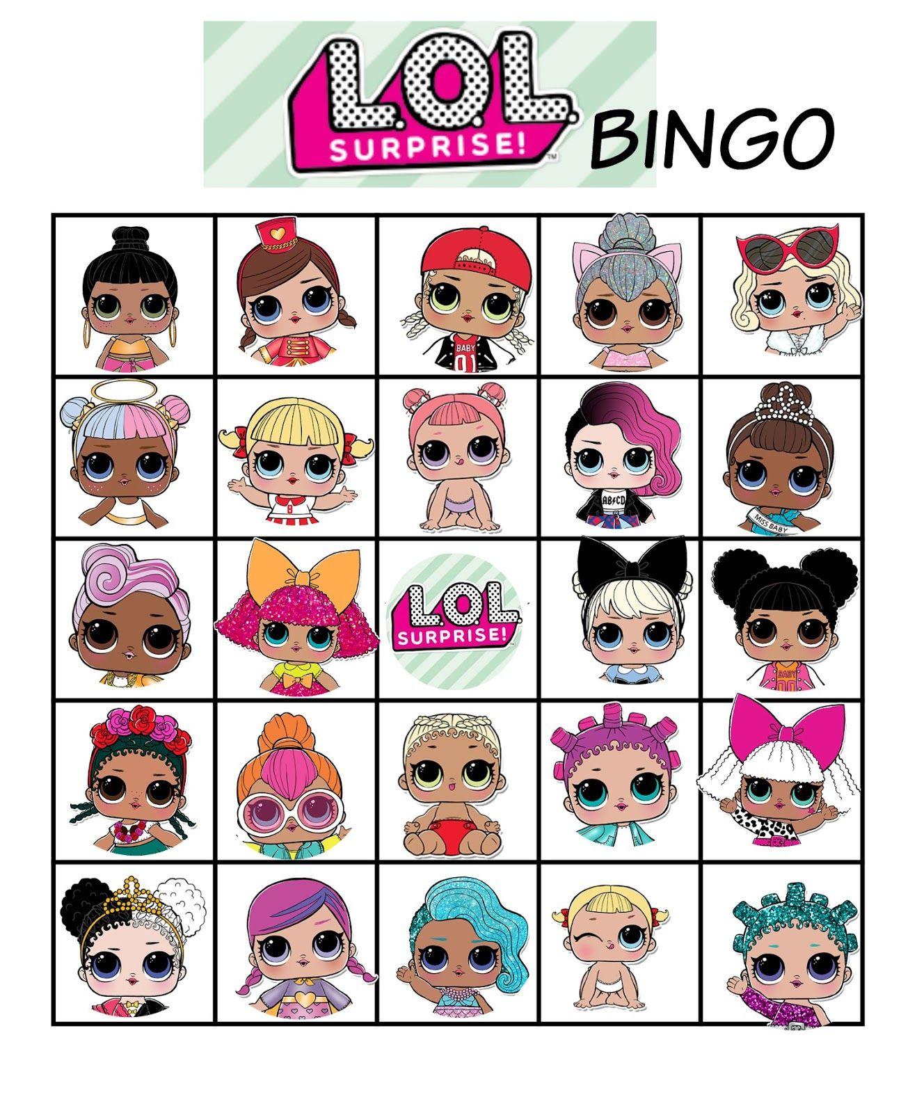 L O L Dolls Bingo Lol Bebek Barbie Bebekler