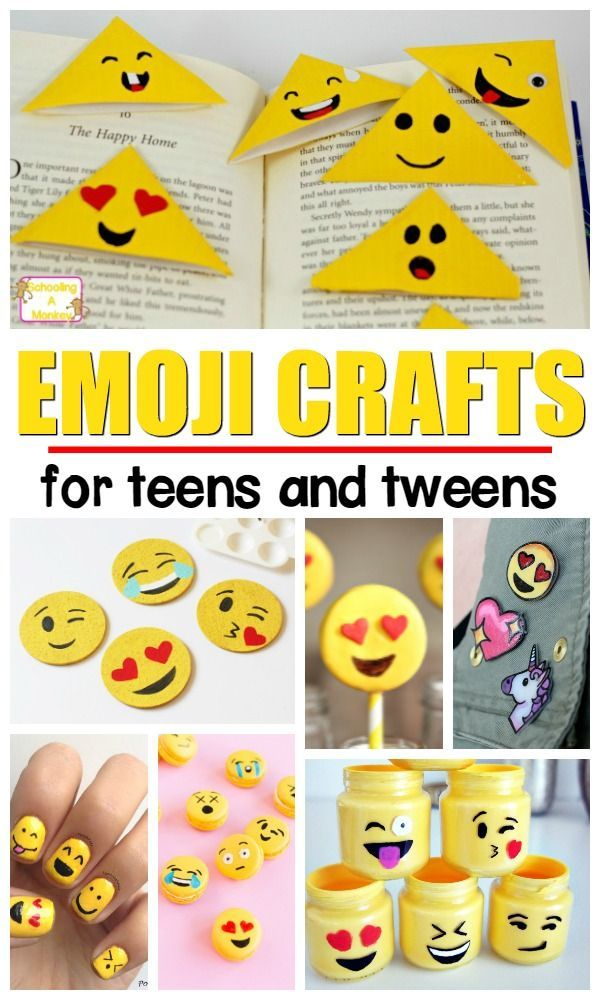 Happy and Fun Emoji Crafts and Activities for Kids | Fun Stuff for ...