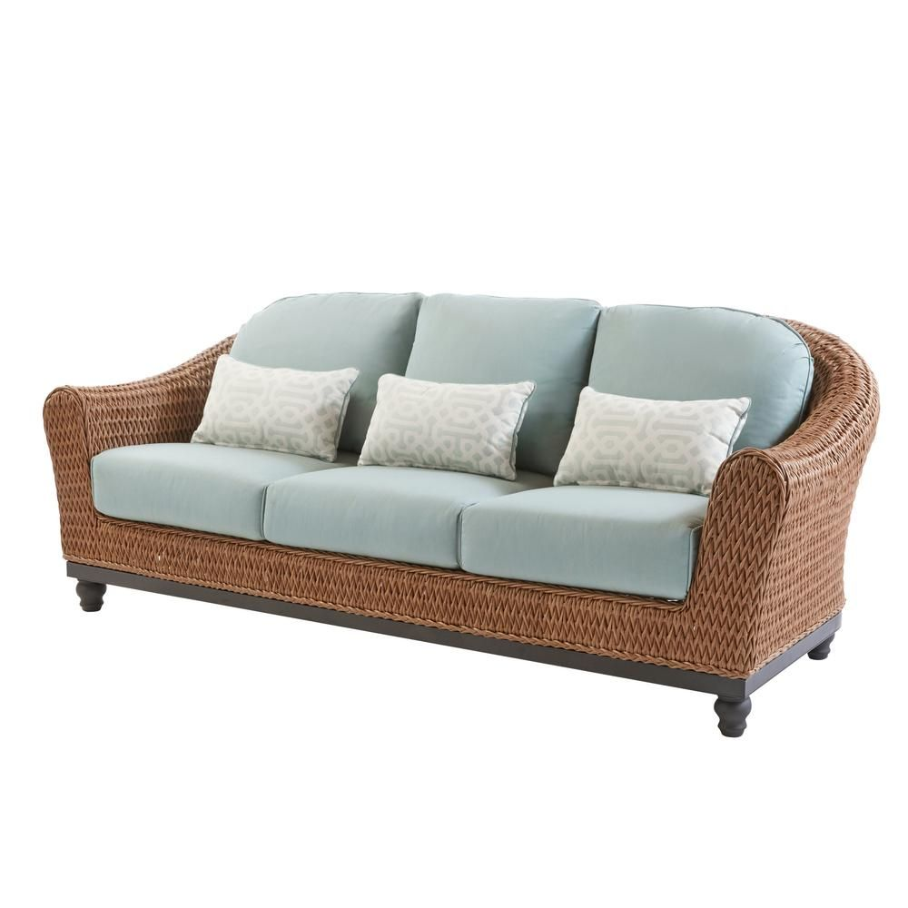 Home Decorators Collection Camden Light Brown Seagrass Wicker