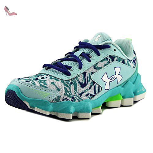 Under Armour GGS Micro G Nitrous Jeunesse US 3.5 Turquoise - Chaussures under  armour (*