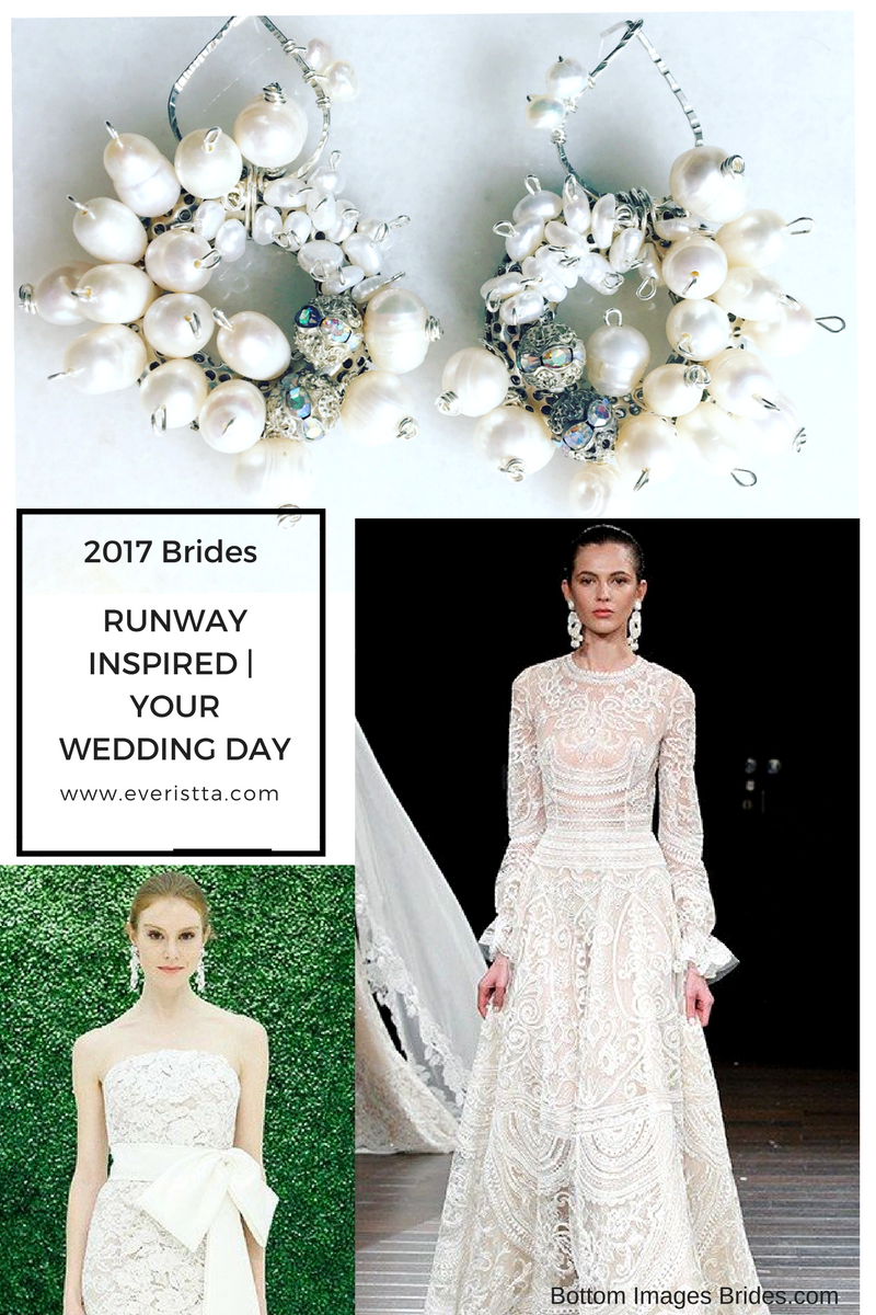 2017 Bridal Trend Incorporating Statement Earrings Into Your Style