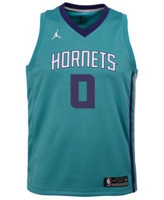 online retailer eae56 a4073 Nike Miles Bridges Charlotte Hornets Icon Swingman Jersey ...
