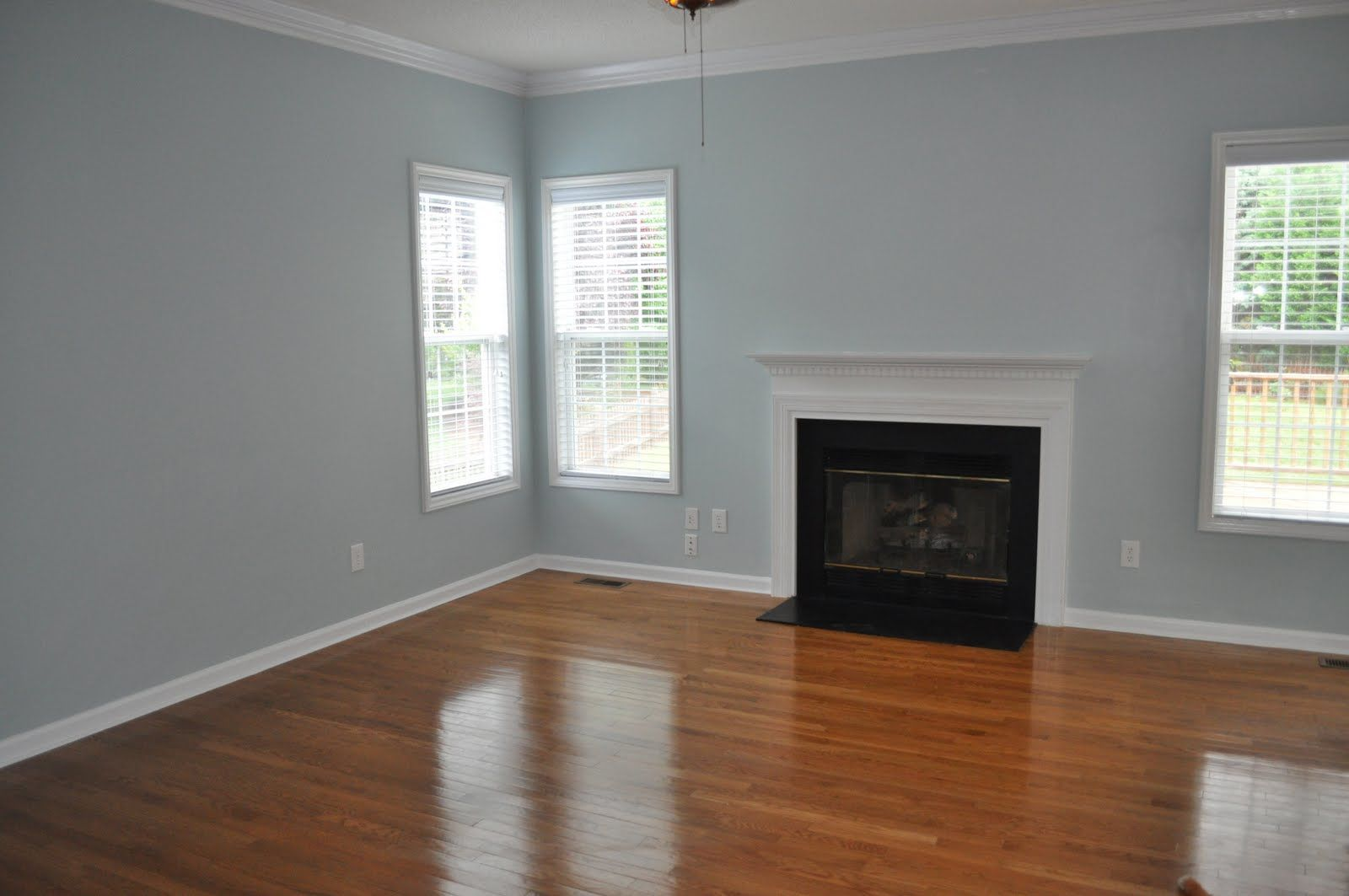 Grey Painted Rooms Anyone Use Bm Paint Colors Paint Colors Pinterest