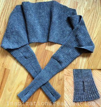 Knitting Projects You Can Make This Winter | Sewing #wrapshapjes