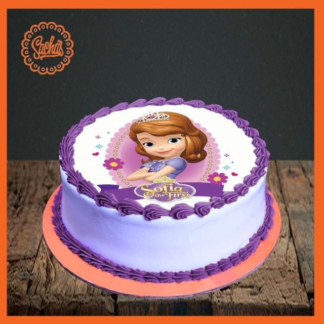 23 Excellent Picture Of Sofia Birthday Cake The First Delivery All Over Karachi